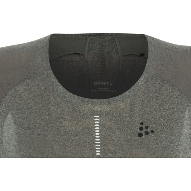 Craft Nanoweight Tee Dam dark grey melange