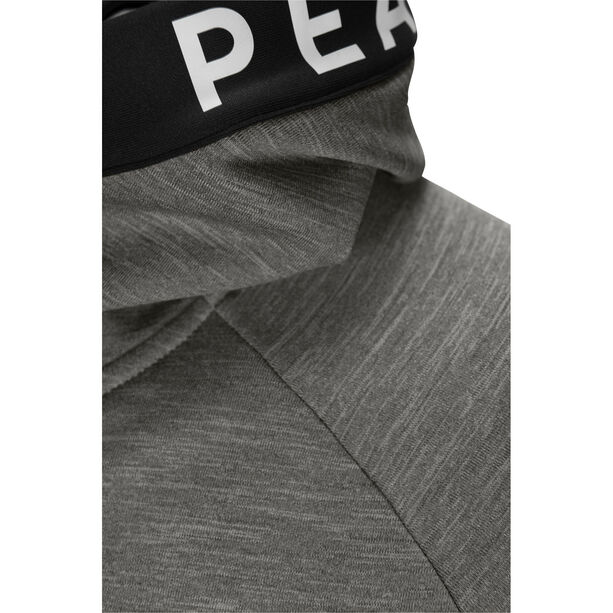 Peak Performance Rider Mel Zip Hood Jacket Dam Grey Melange
