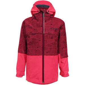 VAUDE Snow Cup 3in1 Jacket All Over Print Barn Crocus Crocus