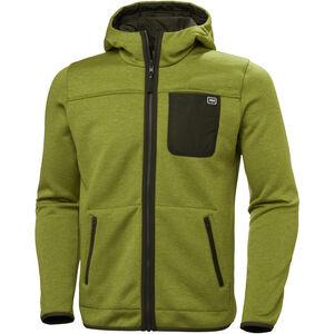 Helly Hansen Verket Reversible Pile Jacket Herr wood green wood green
