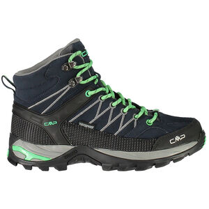 CMP Campagnolo Rigel Mid WP Trekking Shoes Dam asphalt-ice mint
