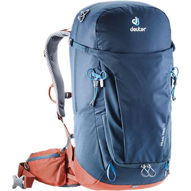 Deuter Trail Pro 32 Backpack Herr midnight/lava