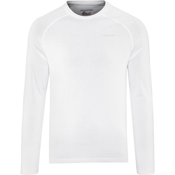 Craghoppers NosiLife Bayame II Long Sleeved T-Shirt Herr optic white