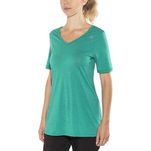 Aclima LightWool Loose Fit T-shirt Dam harbor blue harbor blue