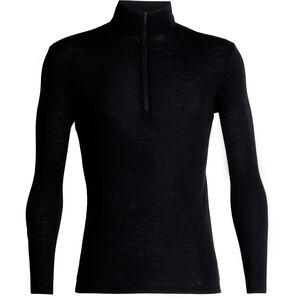 Icebreaker 175 Everyday LS Half Zip Shirt Herr black black
