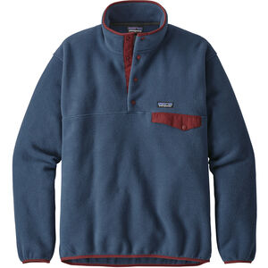 Patagonia Lightweight Synchilla Snap-T Pullover Herr Stone Blue Stone Blue