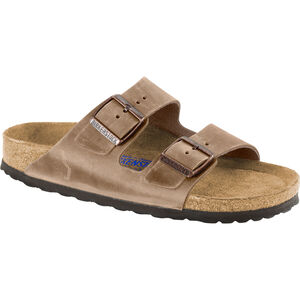 Birkenstock Arizona Soft Footbed Sandals Oiled Nubuck Leather tabacco brown tabacco brown