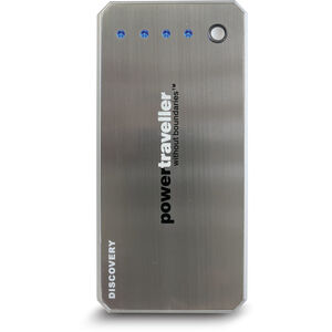 Powertraveller Discovery Charger 6000mAh silver silver