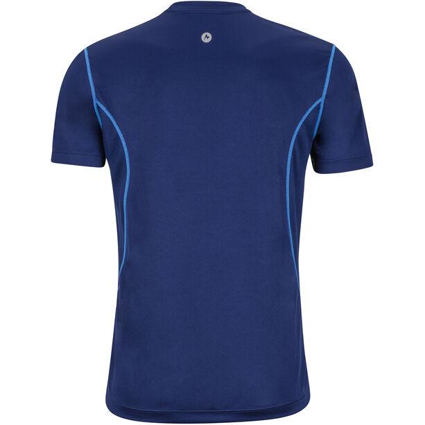 Marmot Windridge SS Shirt with Graphic Herr arctic navy/french blue