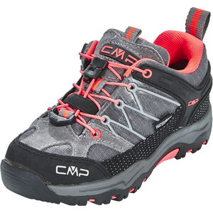 CMP Campagnolo Rigel Low WP Trekking Shoes Barn grey-red fluo grey-red fluo