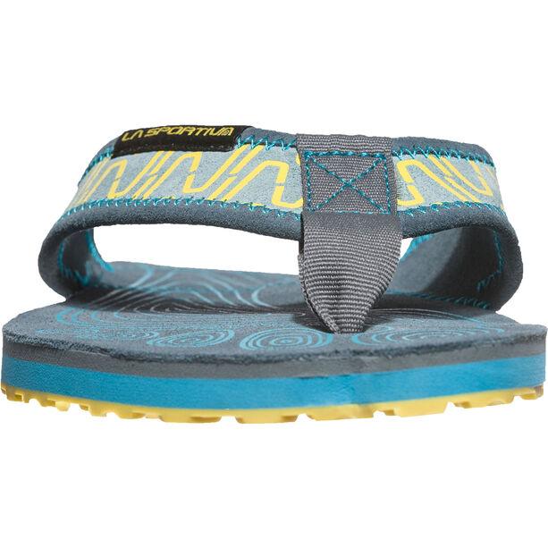 La Sportiva Swing Shoes Herr slate/tropic blue