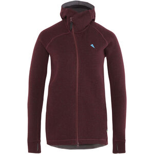 Klättermusen Balder Hoodie Dam sorrel red sorrel red