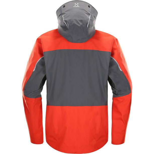 Haglöfs Roc Rescue Jacket Herr habanero/magnetite