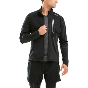 2XU Pursuit Thermal Hybrid Jacket Herr black/black black/black