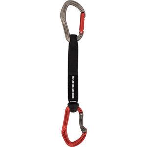 DMM Alpha Sport QD Carabiner 18 cm titanium/red titanium/red