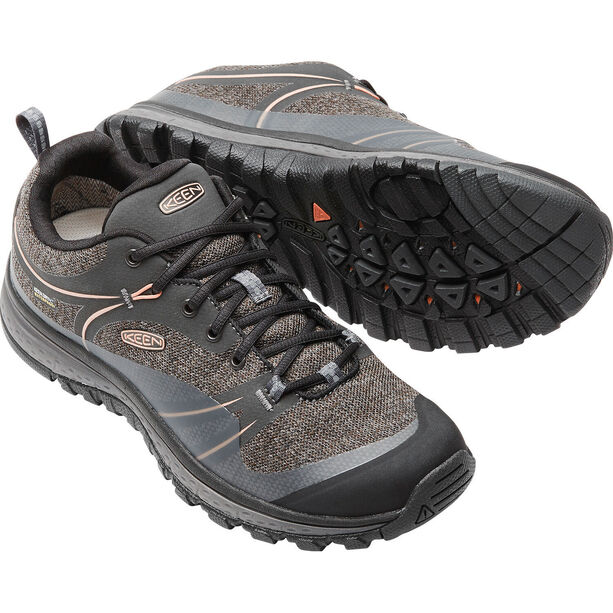 Keen Terradora WP Shoes Dam raven/rose dawn