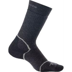 Icebreaker Hike+ Crew Socks Medium Dam jet hthr/silver/black jet hthr/silver/black