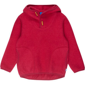 Finkid Jussi Wool Hoodie Flickor persian red persian red