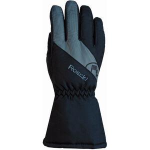 Roeckl Auron Gloves Barn Black/Grey Black/Grey