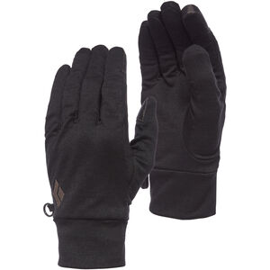 Black Diamond Lightweight Wooltech Gloves Anthracite Anthracite