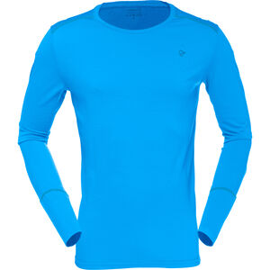 Norrøna Wool Round Neck Shirt Herr signal blue signal blue
