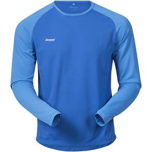 Bergans Slingsby Long Sleeve Herr athens blue/light winter sky/alu athens blue/light winter sky/alu