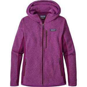 Patagonia Performance Better Sweater Hoody Dam ikat purple ikat purple