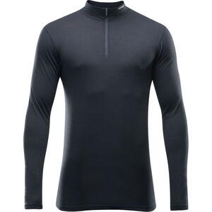 Devold Breeze Half Zip Neck Shirt Herr black black