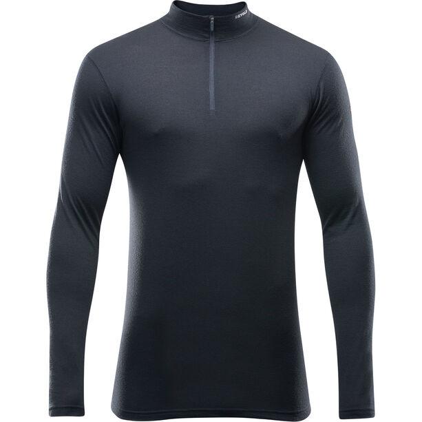 Devold Breeze Half Zip Neck Shirt Herr black