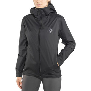 Black Diamond Stormline Stretch Rain Shell Jacket Dam black black