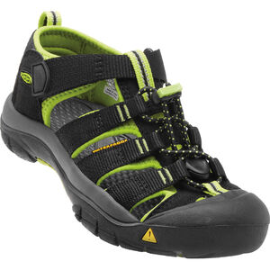 Keen Newport H2 Sandals Barn black/lime green black/lime green