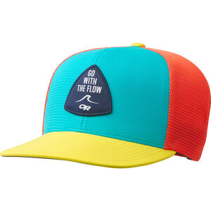 Outdoor Research Performance Trucker Cap Go with the Flow seaglass/lemonpeel/bahama seaglass/lemonpeel/bahama