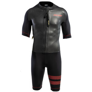 Colting Wetsuits Swimrun Go Wetsuit Herr black/orange black/orange