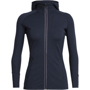 Icebreaker Quantum LS Zip Hood Dam Midnight Navy Midnight Navy
