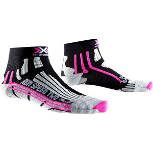 X-Socks Run Speed Two Socks Dam black/fuchsia black/fuchsia