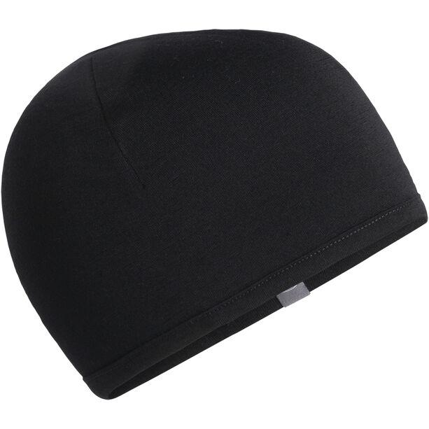 Icebreaker Pocket Hat Barn black/surf