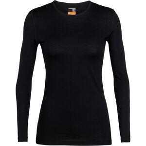 Icebreaker 200 Oasis LS Crewe Shirt Dam black black