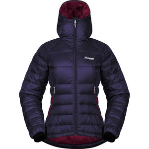 Bergans Slingsby Down Light Jacket with Hood Dam Purple Velvet/Beet Red Purple Velvet/Beet Red