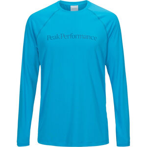 Peak Performance Gallos Co2 LS Tee Herr active blue active blue