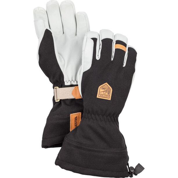 Hestra M's Army Leather Patrol Gauntlet Gloves black