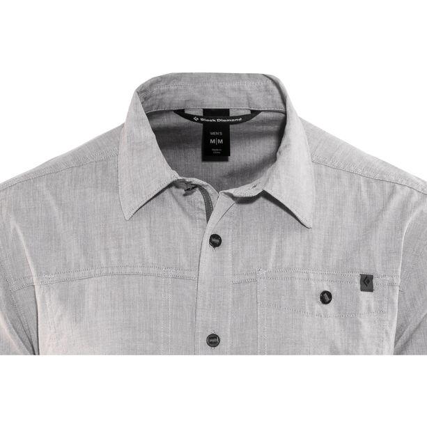 Black Diamond Chambray Modernist SS Shirt Herr slate