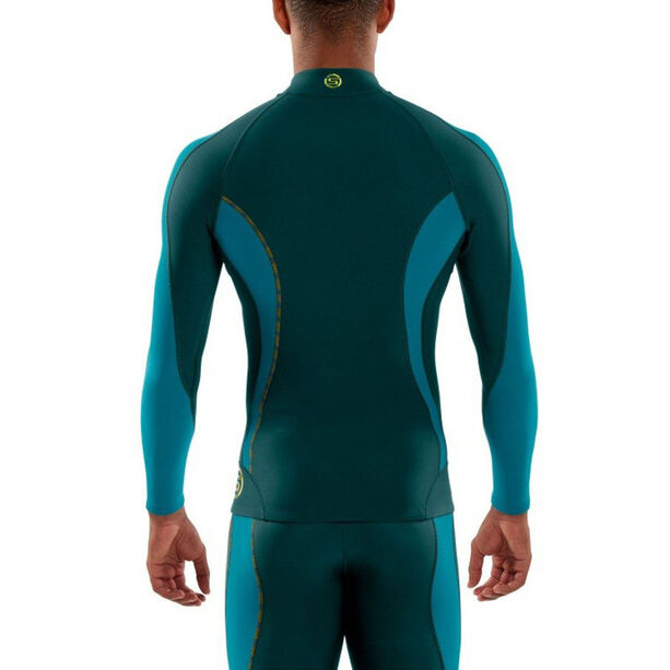 Skins DNAmic Thermal LS with Zip Herr alpine