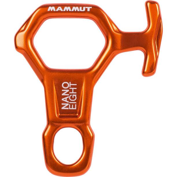 Mammut Nano 8 Belay Device orange