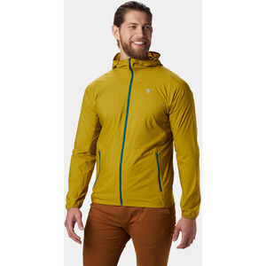 Mountain Hardwear Kor Preshell Jacket Herr dark citron dark citron