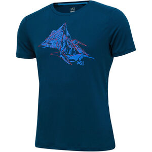 Millet Needles Short Sleeve Shirt Herr poseidon poseidon