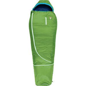 Grüezi-Bag Biopod Woll World Traveller Sleeping Bag Barn holly green holly green