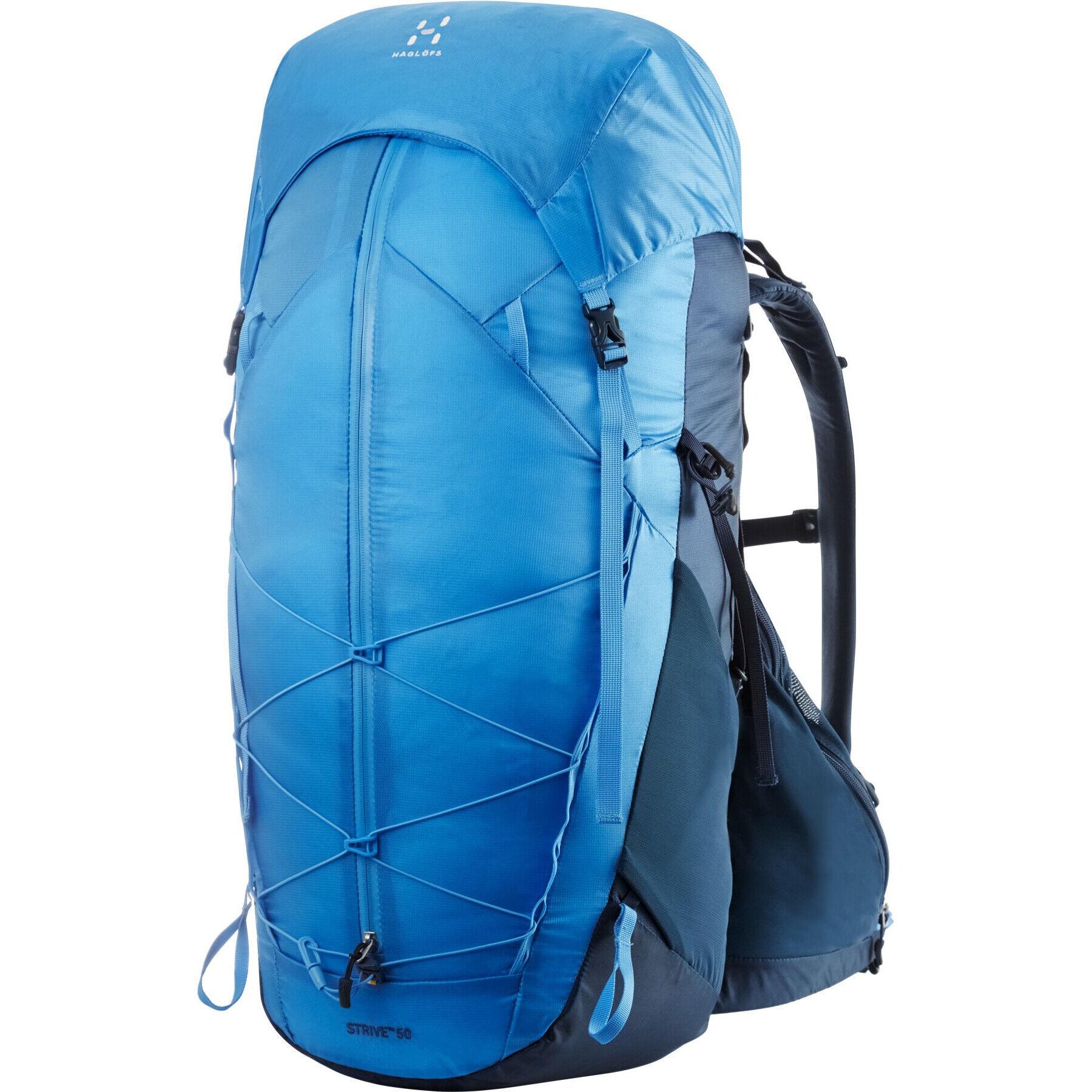 Haglöfs L.I.M Strive 50 Backpack blue inkblue agate
