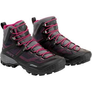 Mammut Ducan High GTX Shoes Dam phantom-dark pink phantom-dark pink
