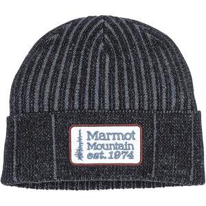 Marmot Retro Trucker Beanie Black/Steel Onyx Black/Steel Onyx