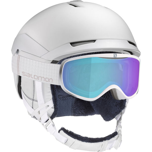 Salomon Quest Helmet Dam white